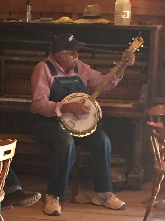 He also recently took up the banjo!