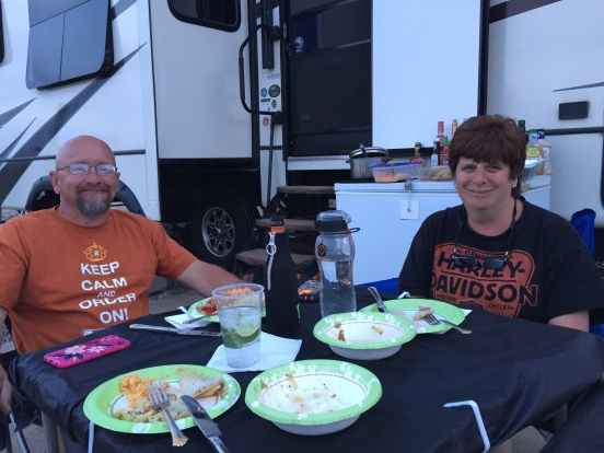 Les and Sue - thanks again for a yummy meal!