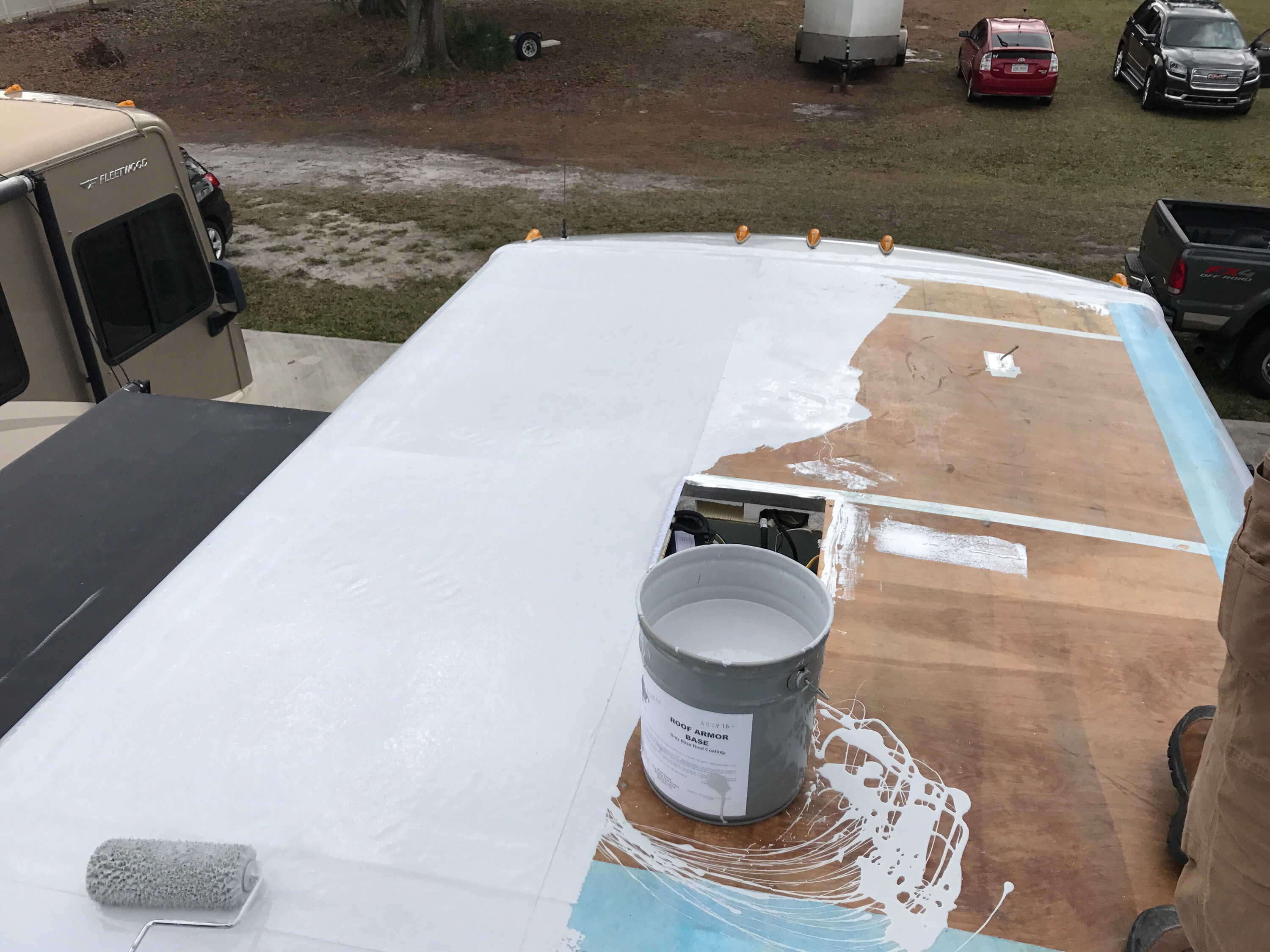 Need A Roof We Ve Got Rv Armor Bill Amp Kelly S American